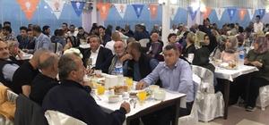 AK Parti teşkilatına iftar yemeği verdi