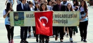 10. Ulusal Kurtuluş Mücadelesi Anma Yürüyüşü başladı