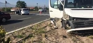 Turist Kafilesi kaza yaptı: 9 yaralı