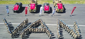 Uzman erbaş olan 116 güvenlik görevlisi, göreve başladı