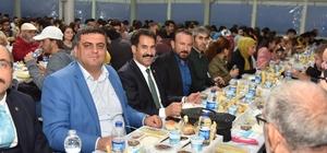 İlk toplu iftar Ayazma'da yapıldı