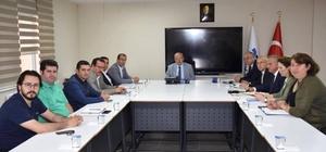 Zeytin ve zeytinyağı üreticileri ile toplantı düzenlendi