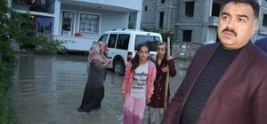 Ev ve iş yerlerini su basan vatandaşın imdadına VASKİ yetişti