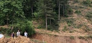 Ahi Dağının 4'üncü etap yol çalışmaları başladı