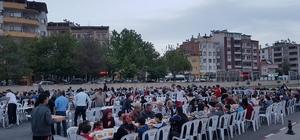Develi'de vatandaşlar için iftar programı düzenlendi