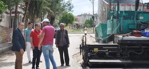 TOKİ Caddesinde asfalt çalışmaları tamamlandı