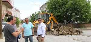 Seydişehir'de asfalt çalışmaları başladı