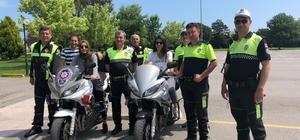 Polislere motosiklet eğitimi