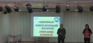 Mardin'de belediyeden bilinçli tüketim eğitimi