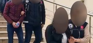 Yaşıtları okulda okurken, o sokaklarda uyuşturucu satıyordu Narkotik ekipleri uyuşturucu madde ticareti yapan biri çocuk iki kişiyi yakaladı