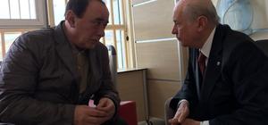 MHP Genel Başkanı Bahçeli, Çakıcı'yı ziyaret etti