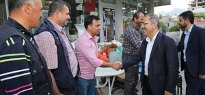 Başkan Çelikcan, Pozantı'da vatandaşlarla bir araya geldi