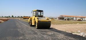 Şanlıurfa'da asfalt çalışmaları sürüyor
