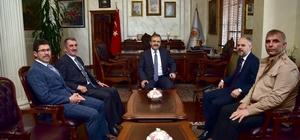 """Başkan Şahin: """"Cumhurbaşkanımızı başkan yapacağız"""" Samsun Belediyeler Birliği Başkanı Zihni Şahin oldu"""
