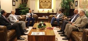 Irak Yükseköğretim Bakanlığı'ndan KBÜ'ye ziyaret