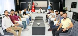 Rektör Karacoşkun Üniversiteli sporcularla bir araya geldi