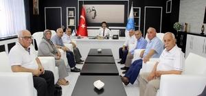 Rektör Karacoşkun Dostluk Grubu ile bir araya geldi