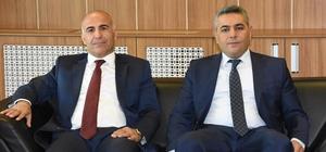 Halkbank Bölge Müdürü Arslan'dan MTSO'ya ziyaret