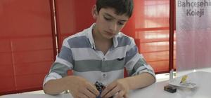 Elazığ'da genç mucitlerin robotları yarıştırıldı