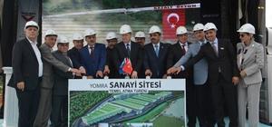 Yomra Sanayi Sitesi'nin temeli törenle atıldı