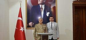 Orgeneral Çetin'den, Vali Arslantaş'a ziyaret