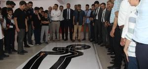 """Elazığ'da """"Robotlar"""" yarıştı"""