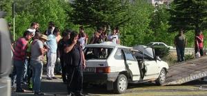 Uşak'ta Trafik Kazası 1 Ölü