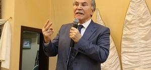 """AK Partili Şahin: """"24 Haziran'da, meydan okumalara en güzel cevabı vereceğiz"""" TBMM eski Başkanı Mehmet Ali Şahin: """"AK Parti'ye karşı olanların meydan okumalarına cevap vereceğiz"""""""