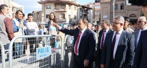 Bakan Eroğlu Aksaray'da 51 milyon TL'lik projelerin temelini attı