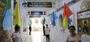 Bu okulun koridorları konuşuyor Artvin'in Arhavi ilçesindeki Hacılar İlk ve Orta Okulu'nun her köşesinde ayrı bir bilgi paylaşılıyor