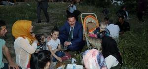 İlkadım'da piknik havasında iftar buluşması