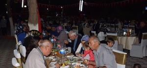 Lapseki'de şehit ve gazi aileleri iftar programında buluştu