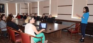 Kartepe Belediyesi'nden personeline göz sağlığı semineri