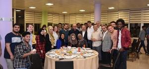 İl Protokolü, uluslararası öğrencilerle iftar yaptı