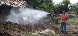 Germencik Belediyesi haşerelerle mücadelede hız kesmiyor