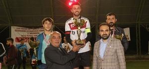Futbol turnuvasının şampiyonu Betaş oldu