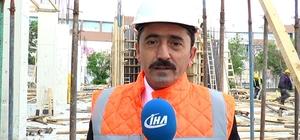Erzurum'da yapımı devam eden 1 milyon kitap kapasiteli Kütüphane binası 2019 Nisan ayında bitirilecek