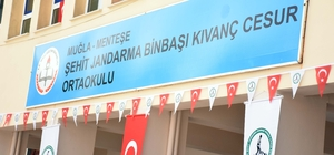 Muğla'da şehidin adı mezun olduğu okula verildi