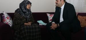 Başkan Orhan, şehit yakınlarını unutmadı Şehit annesi Hazal Şimşek; Şehit annesi olmanın onurunu yaşıyorum
