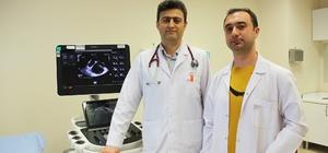 Kalbi delik hastaya ameliyatsız kapama işlemi