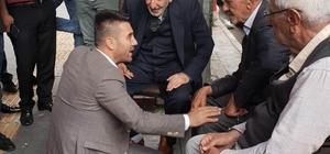 Yıldırım'a vatandaşlardan yoğun ilgi Bağımsız milletvekili adayı Özkan Yıldırım sokak sokak sevgi topladı
