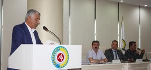 ATSO'da yeni dönemin ilk meclis toplantısı gerçekleştirildi