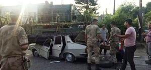 Osmaniye'de otomobil biçerdöverle çarpıştı: 1 ölü, 3 yaralı