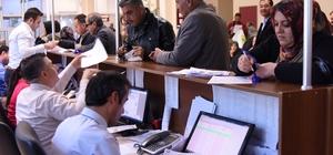Şahinbey Belediyesinden hafta sonu vergi mesaisi