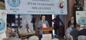 İş ve siyaset dünyası TSO iftarında bir araya geldi