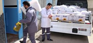 Şehitkamil, dar gelirli ailelere umut oldu 10 bin dar gelirli aileye gıda yardımı ulaşacak