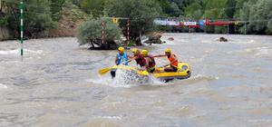 Türkiye Rafting Şampiyonası 2. ayak yarışları başladı