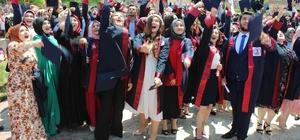 Borsa MYO kep attı 630 öğrenci mezuniyet heyecanı yaşadı