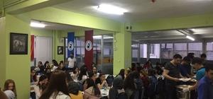 Kale MYO öğrenci ve personeli iftar yemeğinde bir araya geldi