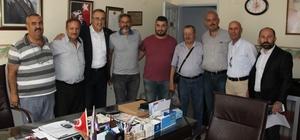 İYİ Partili Karaçoban berber ve kuaför esnafının sorunlarını dinledi